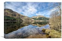 Loch Eck Reflection, Canvas Print