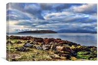Little Cumbrae View , Canvas Print