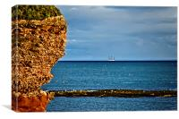 Cliff Edge, Canvas Print