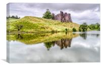 Morton Castle , Canvas Print