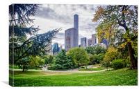 Central Park View, Canvas Print