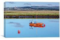 Irvine Coastwatch , Canvas Print