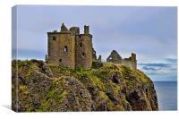 Dunnottar Castle Fortress , Canvas Print
