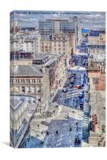 West Nile Street, Canvas Print
