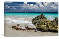 Riviera Maya Shore, Canvas Print