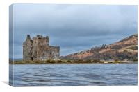 Lochranza Castle, Canvas Print