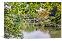 Bow Bridge Central Park, Canvas Print