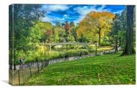 Central Park NYC, Canvas Print