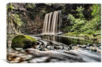 Dalcairney Falls, Canvas Print
