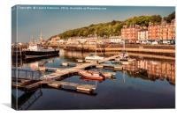 Rothesay Harbour, Canvas Print