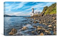 Cloch Lighthouse Gourock, Canvas Print