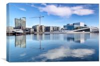 Oslo Waterfront, Canvas Print