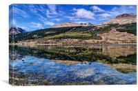 Loch Long Reflection, Canvas Print