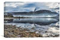 Corpach and the Nevis Range, Canvas Print