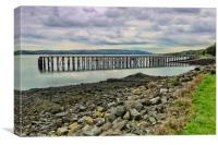 Lamonts Jetty, Canvas Print
