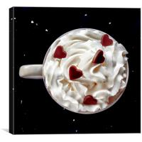 Cup of Love , Canvas Print