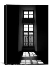 Window in an Italian Villa, Canvas Print