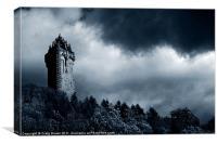 Wallace Monument, Scotland, Canvas Print