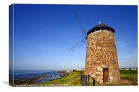 St Monans Windmill, Canvas Print