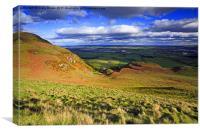 Forth Valley Scotland, Canvas Print
