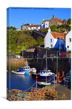 Crail Harbour, Fife Scotland, Canvas Print