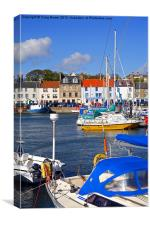 Anstruther Harbour, Scotland, Canvas Print