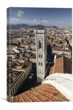 Campanile, Florence, Canvas Print