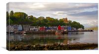 Tobermory at low tide, Canvas Print