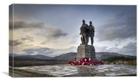 Commando Memorial, Spean Bridge, Canvas Print