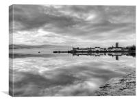 Early morning, Inverary, Canvas Print