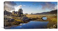 Bridge to Eilean Donan, Canvas Print