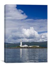 Lismore lighthouse, Canvas Print