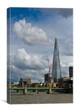 Portrait of the Shard, Canvas Print