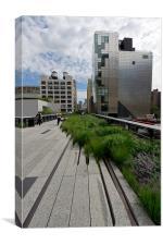 High Line NYC, Canvas Print