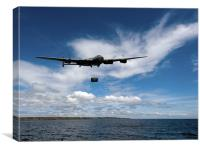 Lancaster releasing Upkeep, Canvas Print