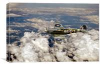 Bob Stanford Tuck s Spitfire Vb, Canvas Print