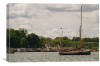 Pin Mill, Canvas Print