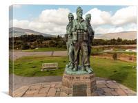 Commando Memorial, Spean Bridge, Canvas Print
