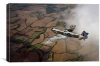 Spitfire XVI TD240 SZ-G, Canvas Print