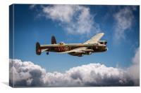 Lancaster PA474 VN-T, Canvas Print