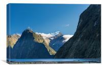 Mt Pembroke glacier, Canvas Print