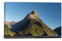 Mitre Peak / Rahotu, Canvas Print