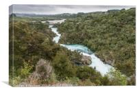 Aratiatia Rapids New Zealand, Canvas Print