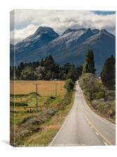 Mt Earnslaw north of Glenorchy, Canvas Print