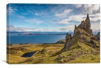 Sound of Raasay from Storr, Canvas Print