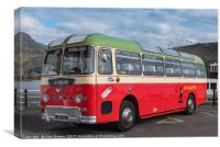 Old Macbraynes coach, Canvas Print