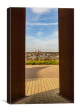 Lincoln Cathedral from the IBCC, Canvas Print