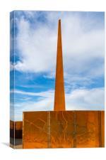 IBCC spire, Canvas Print