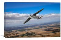 Spitfire TR 9 on a roll, Canvas Print
