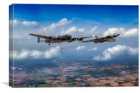 Avro sisters , Canvas Print